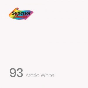 SP9313 Superior Background Paper ; Arctic White 1.3x11m