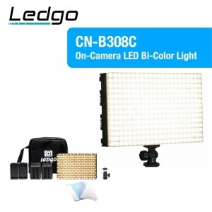 [스페셜세일]LEDGO CN-B308C Bi-color on camera